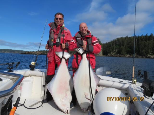 68 and 54 lb hali