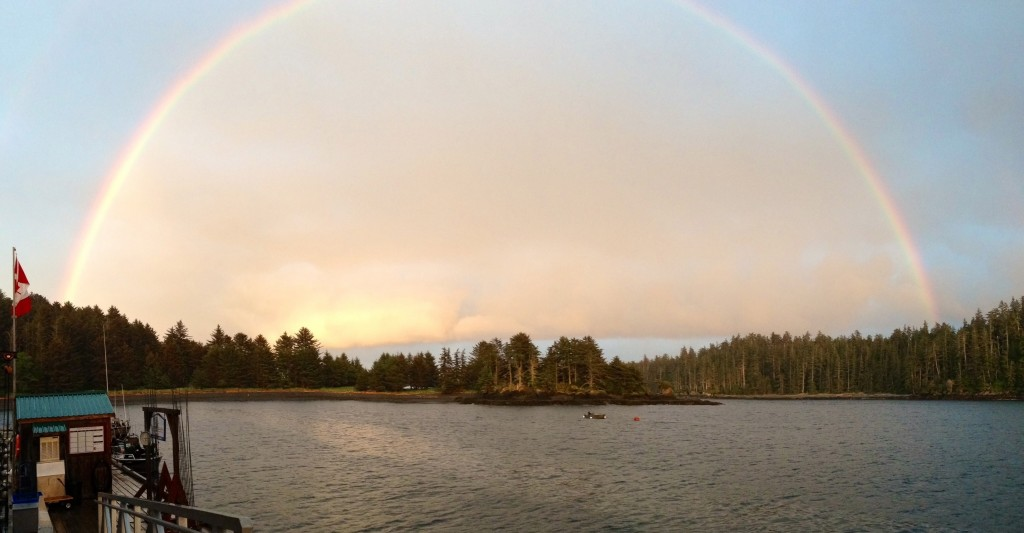 * The pot of gold known as Langara Island open for business.