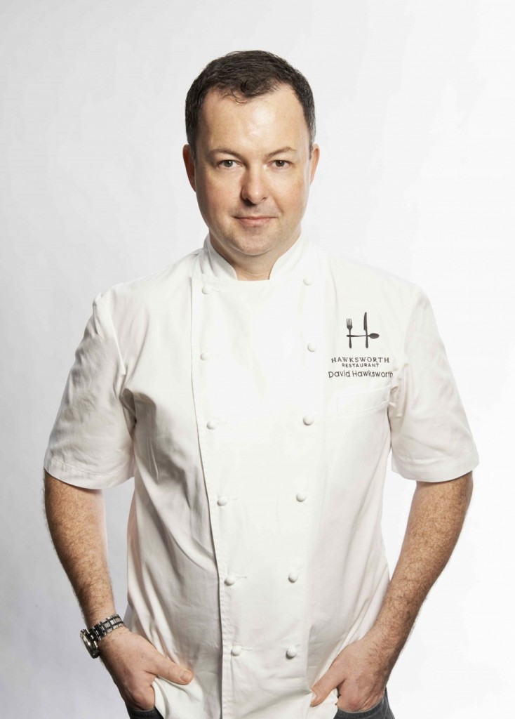 * Chef David Hawksworth.