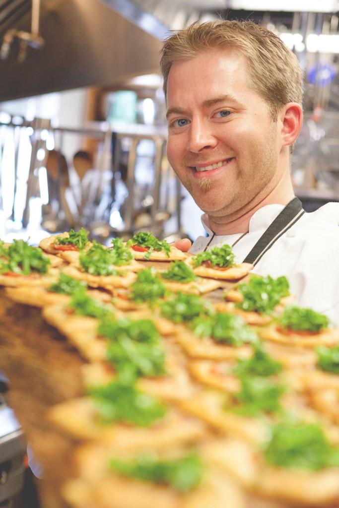 * Chef Liam Paul.