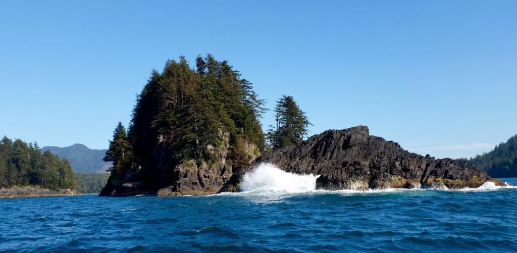 * Brock Island aka the Tyee hole.