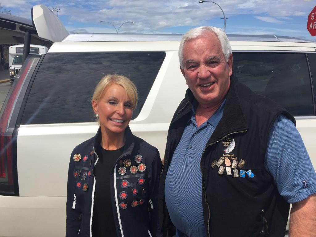 Diane & JB Rupert pins