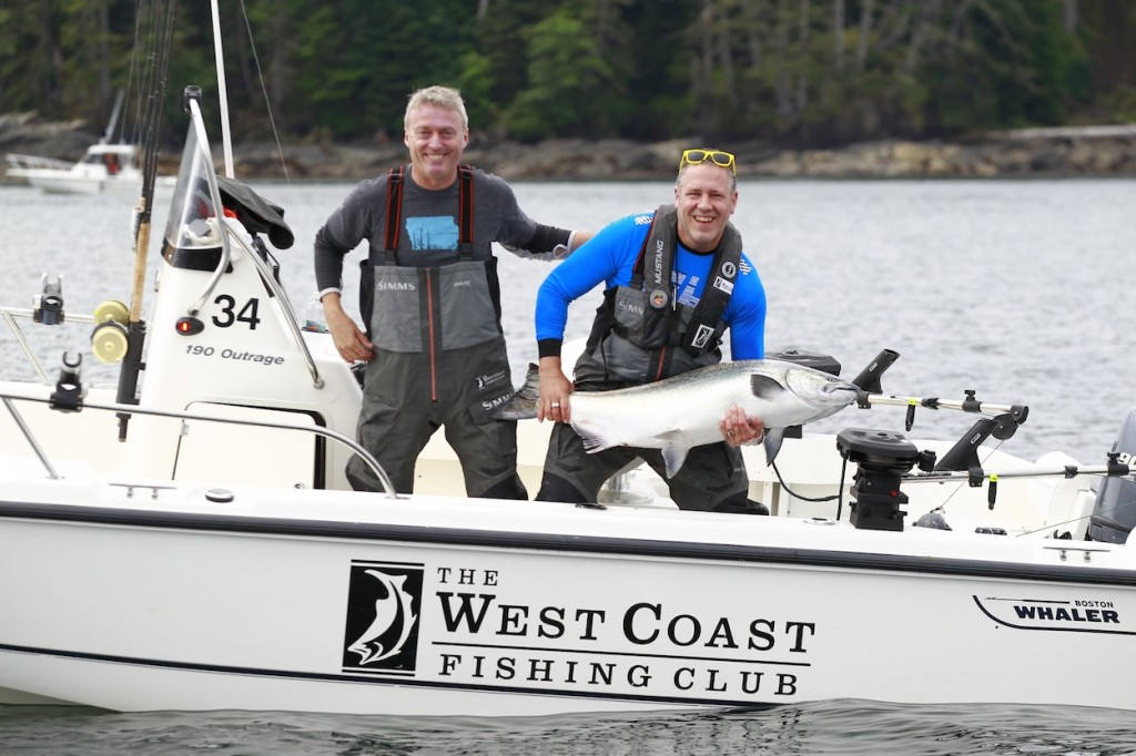 LANGARA ISLAND, BC: JULY 19, 2015 - The West Coast Fishing Club 2015 Culinary Adventure at The Clubhouse on Langara Island, BC, Canada July 19, 2015. Photo by Jeff Vinnick