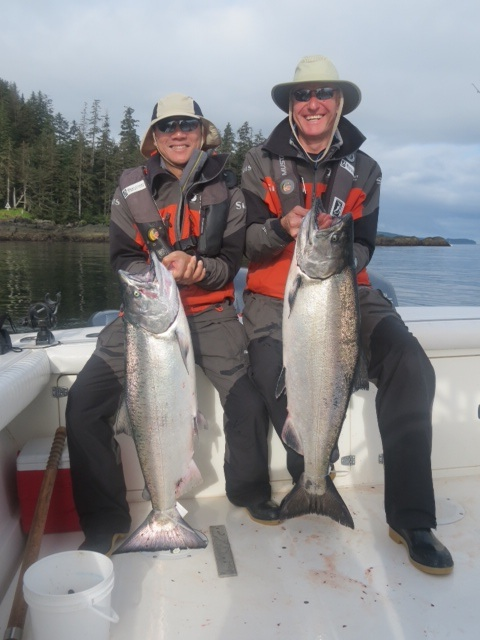 * Glen Kaneshige and Chris Waggett with the PCL group show off a couple nice high twenties.