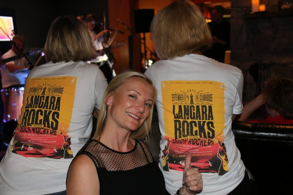 * Langara Rocks t-shirts approved by Jessie Daniels.