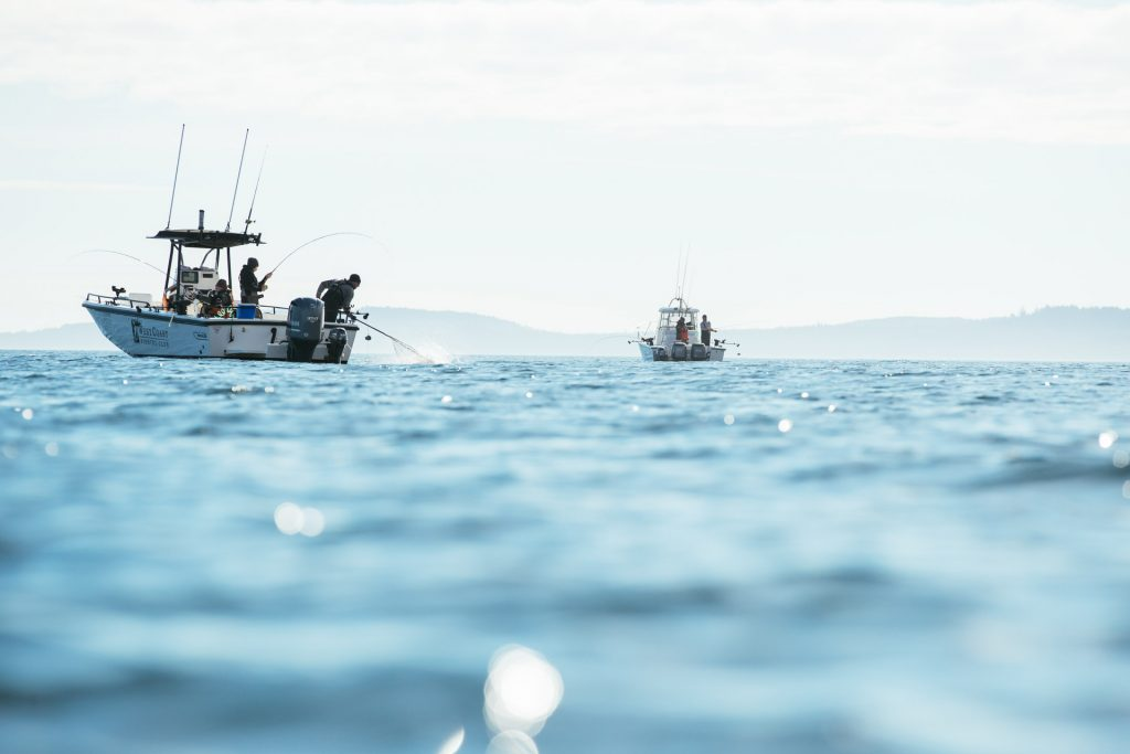 <em>* Beautiful fishing conditions off Seith Point on Langara Island. </em>
