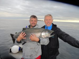 * Don and Mark Hodge enjoying the final morning of the season for NIL.
