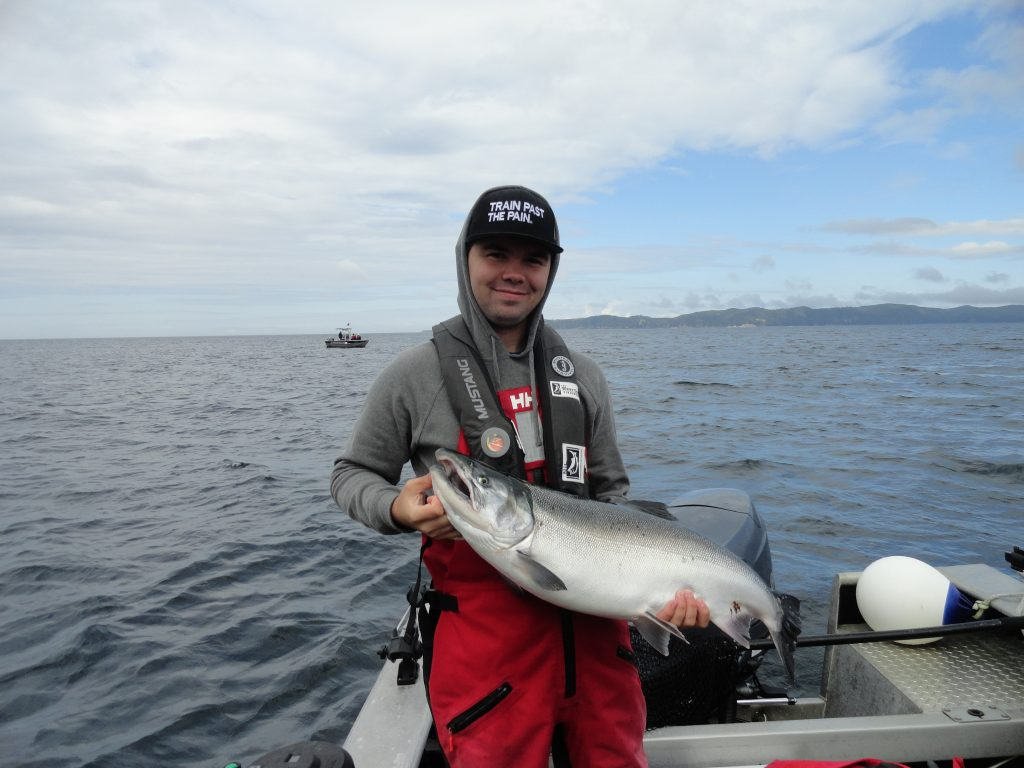 <em>* 18lb Coho for Jared Hodge. </em>