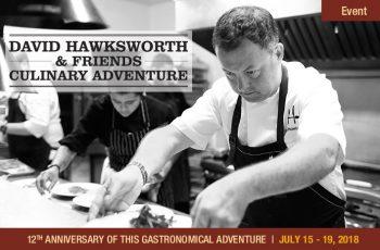 2018 David Hawksworth & Friends Culinary Adventure