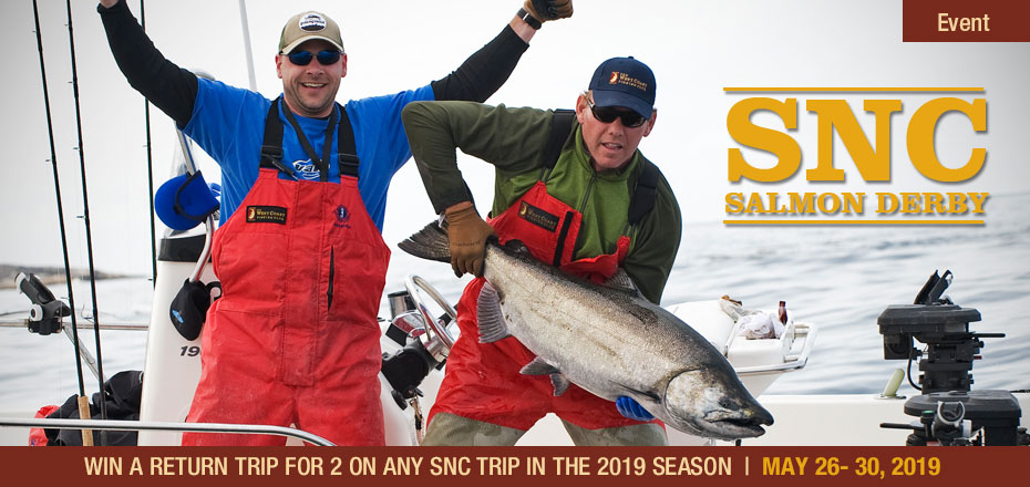 2019 snc salmon derby west coast fishing club for West coast fishing club
