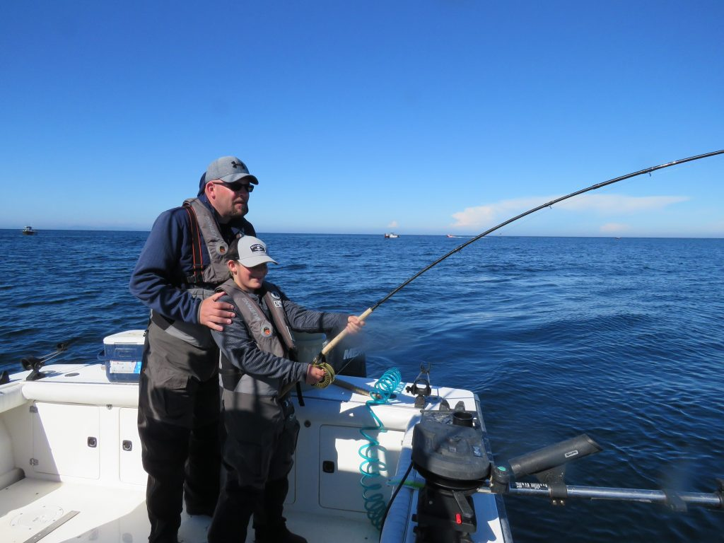 Ch report the fishing is crazy good july 9 2018 for West coast fishing club