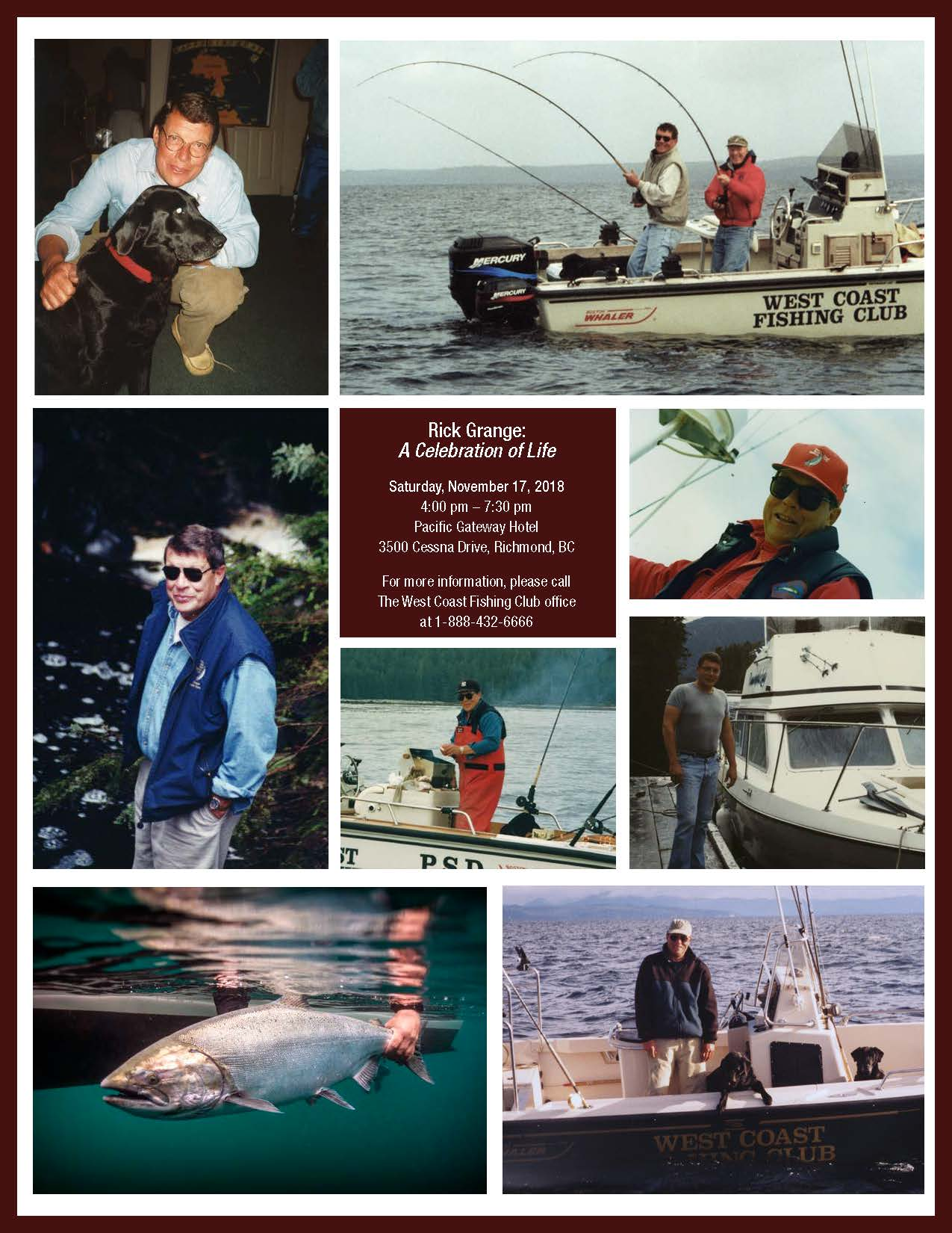 In Memoriam: WCFC Co-Founder Rick Grange | The West Coast Fishing Club