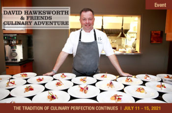 2021 David Hawksworth & Friends Culinary Adventure